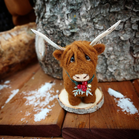 Harrison the Highland Cow