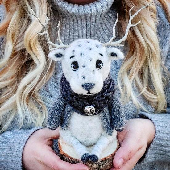 Abner the Albino Reindeer