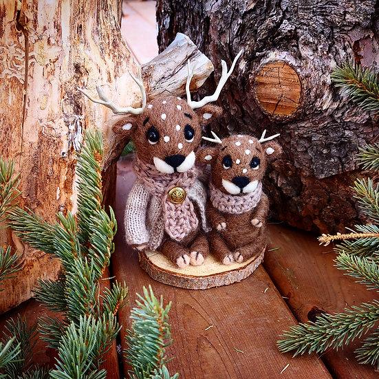 Reindeer Duo