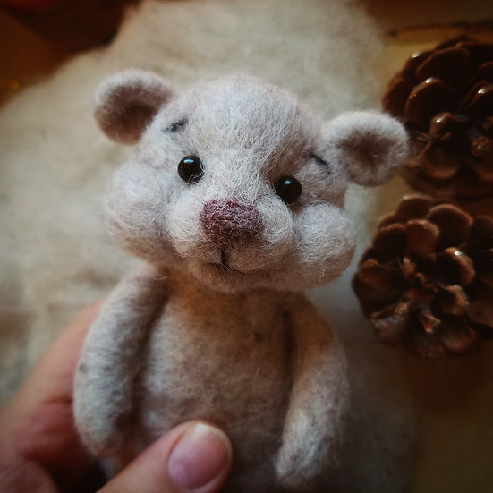 Bare Bear in Heather Beige - Made to Order