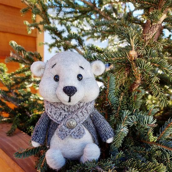 Bare Bear in Grey