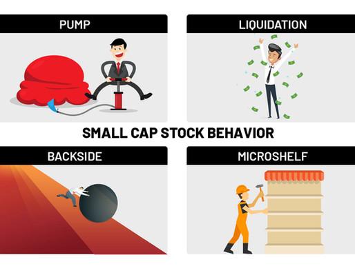 Behavior of small cap stocks