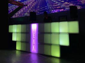 dj booth - PEAK party