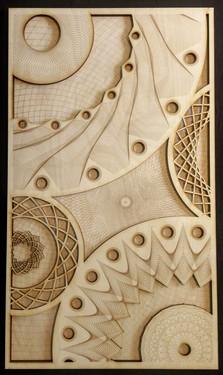 mandala painting - celestial event V2