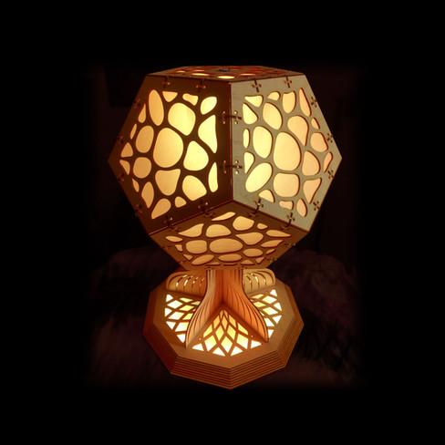 mushroom lamp
