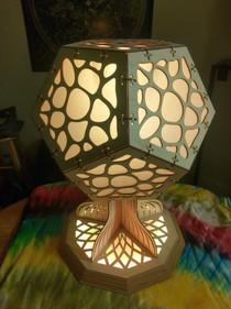 mushroom lamp - neutral
