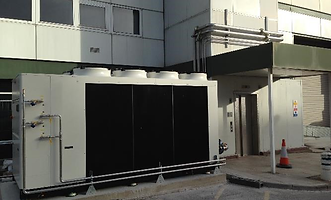 case study - air conditioning chiller for NHS
