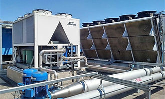 case study - data centre chillers and free cooling