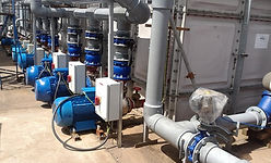 GalxC Cooling glycol installation tank and pumps