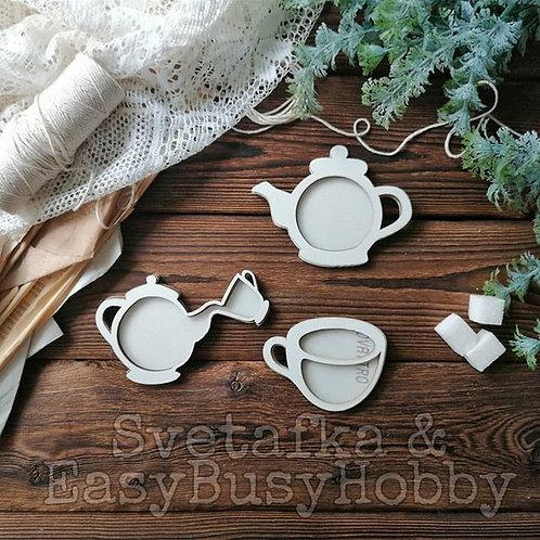 Чайный сервиз. Чайник 12 см
