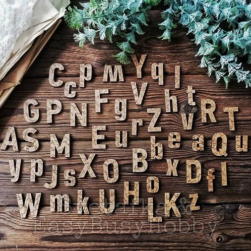 Кракле буквы