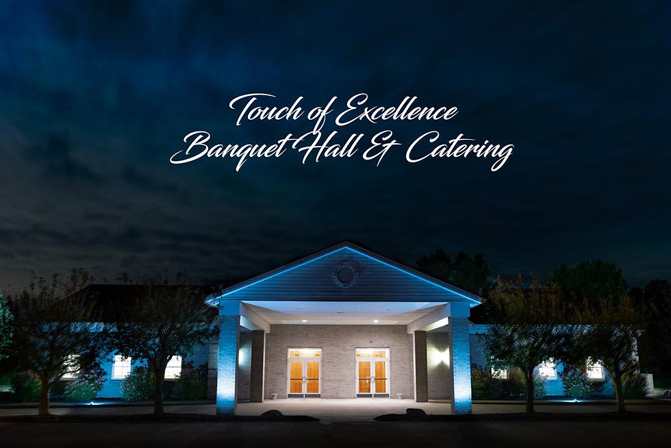 Touch Of Excellence Hall Wedding Venue O