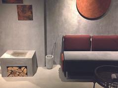 ClayStone Väggar, möbler, konst