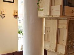 Tadelakt pelare & T-Paint väggar