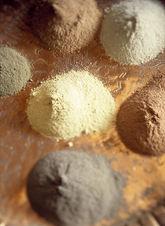 Material Claystone, tadelakt, monosoft