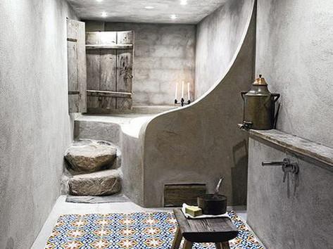 Tadelakt Bathroom