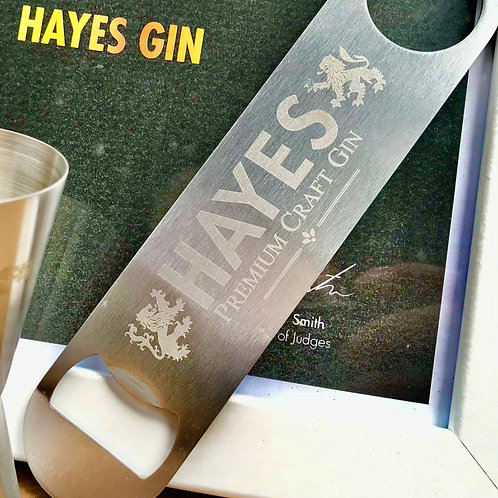 HAYES GIN Professional Bottle Opener