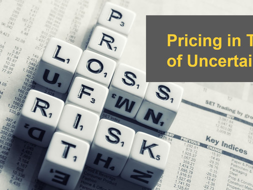 Pricing in Times of Uncertainty