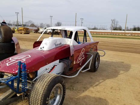 Scott Rickrode Selinsgrove Speedway 4-14-18