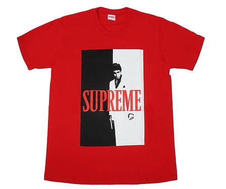 Supreme X Scarface Red Tee