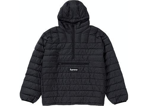 Supreme Micro Down Half Zip Hooded Pullover