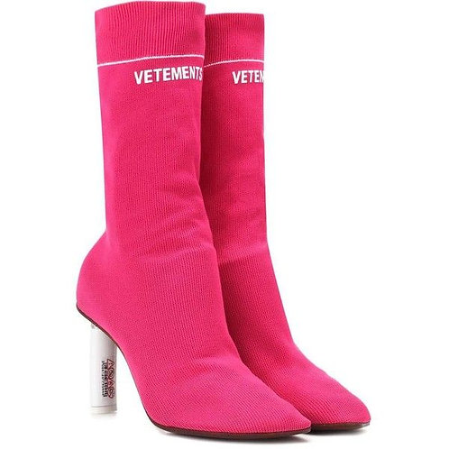 VETEMENTS Socks Ankle Boots