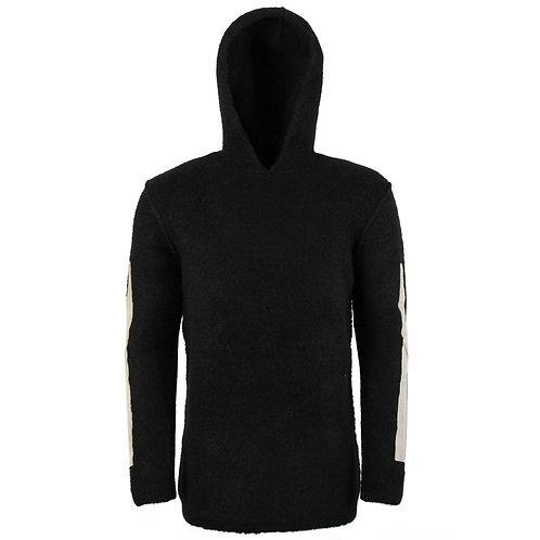 Rick Owens Oversized Wool Hooded Sweater (KLEOL1)