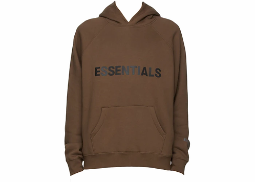 FEAR OF GOD ESSENTIALS x SSENSE Pullover Hoodie Applique Logo