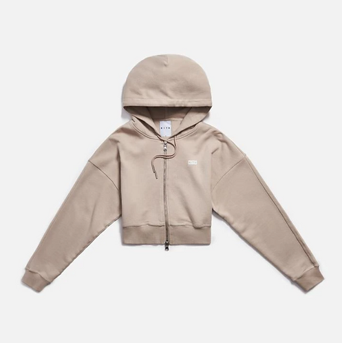 KITH-Small box logo-Zip-up-Hoodie