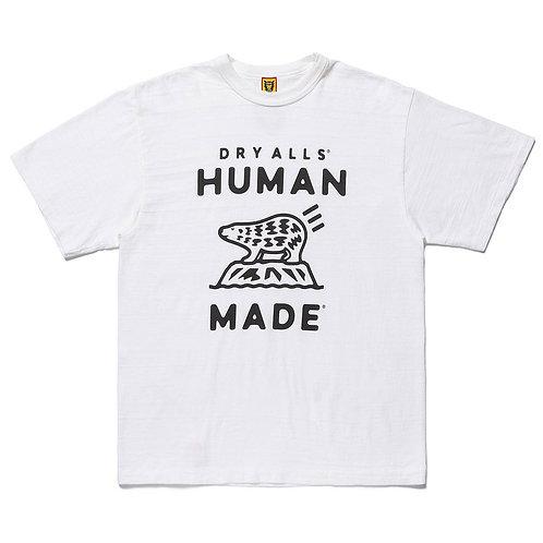 Human Made Polar Bear Logo Tee