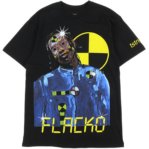 A$AP ROCKY Injured Generation TESTING T-shirt BLACK