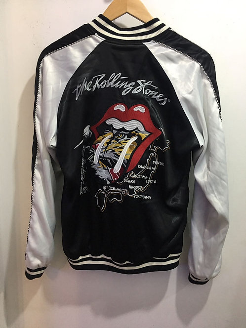ROLLING STONE Yokosuka Tiger Embroidery Baseball Jacket