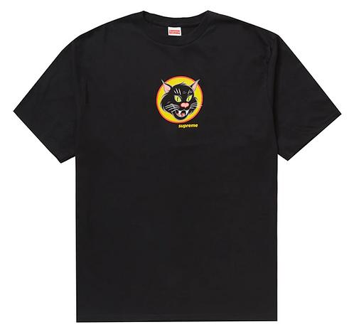 Supreme Black Cat T-shirt BLACK