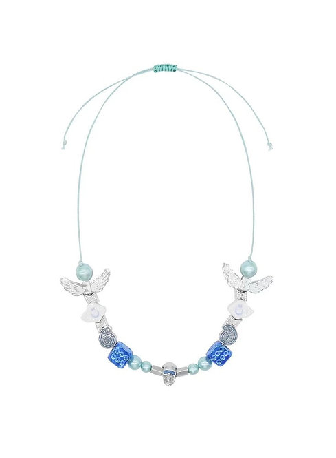 EVAE+ & Black Lux Smily Cloud Necklace