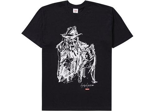 Supreme Yohji Yamamoto Scribble Portrait Tee