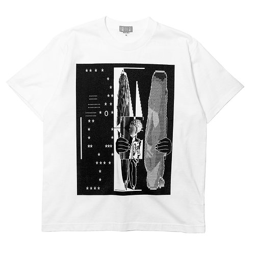 C.E tetAtet T-shirt WHITE