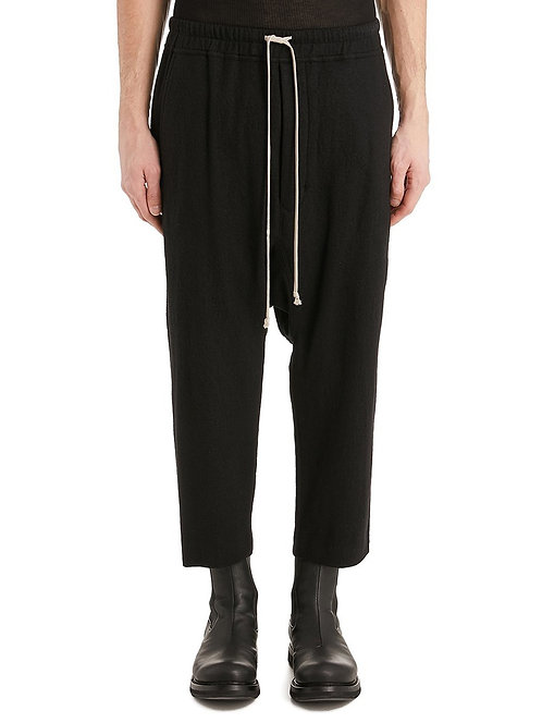 Rick Owens Drawstring Astaires Cropped Pants (WF09)