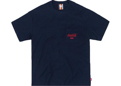 KITH X COCA-COLA Pocket T-shirt NAVY