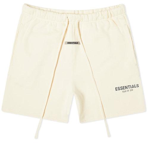 FEAR OF GOD ESSENTIALS Fleece Shorts (cream)