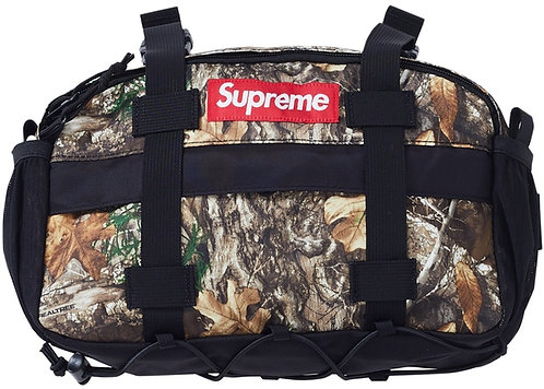 SUPREME Tree Camo Waist Bag