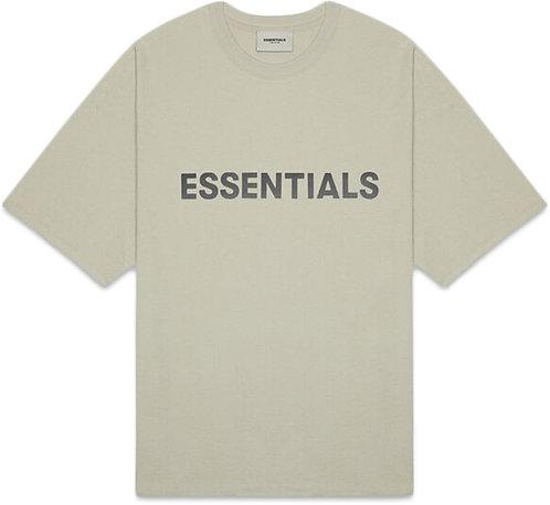 FEAR OF GOD ESSENTIALS 3D Silicon Applique Boxy T-Shirt
