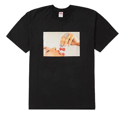 Supreme Cherries T-shirt BLACK