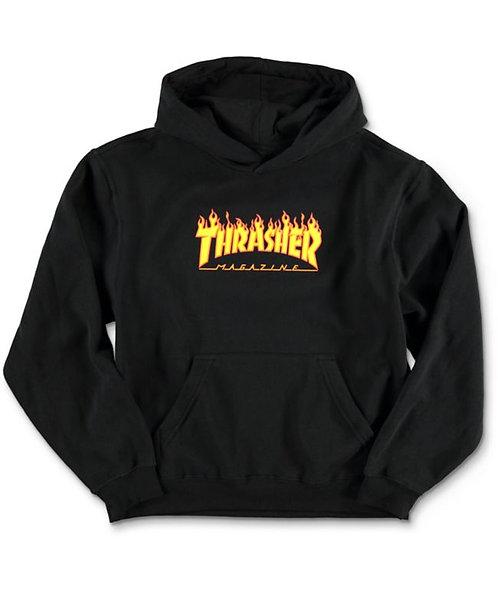 Thrasher Magazine Flame Logo Hoodie