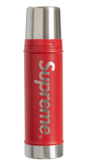 SUPREME Vacuum Insulated Bottle RED