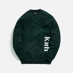 KITH Paneled Crewneck GREEN