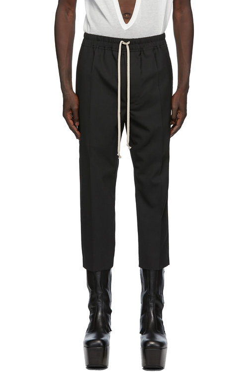 Rick Owens Drawstring Astaires Cropped Pants (WE09)