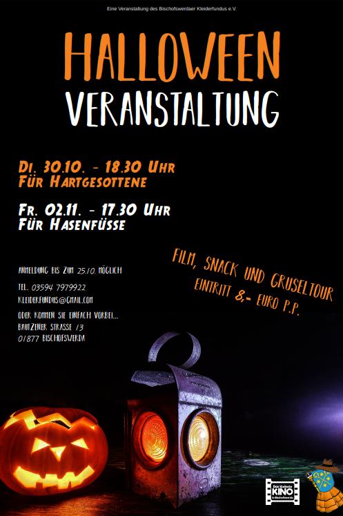 Halloween - 30.10.2018 - 18.30 Uhr