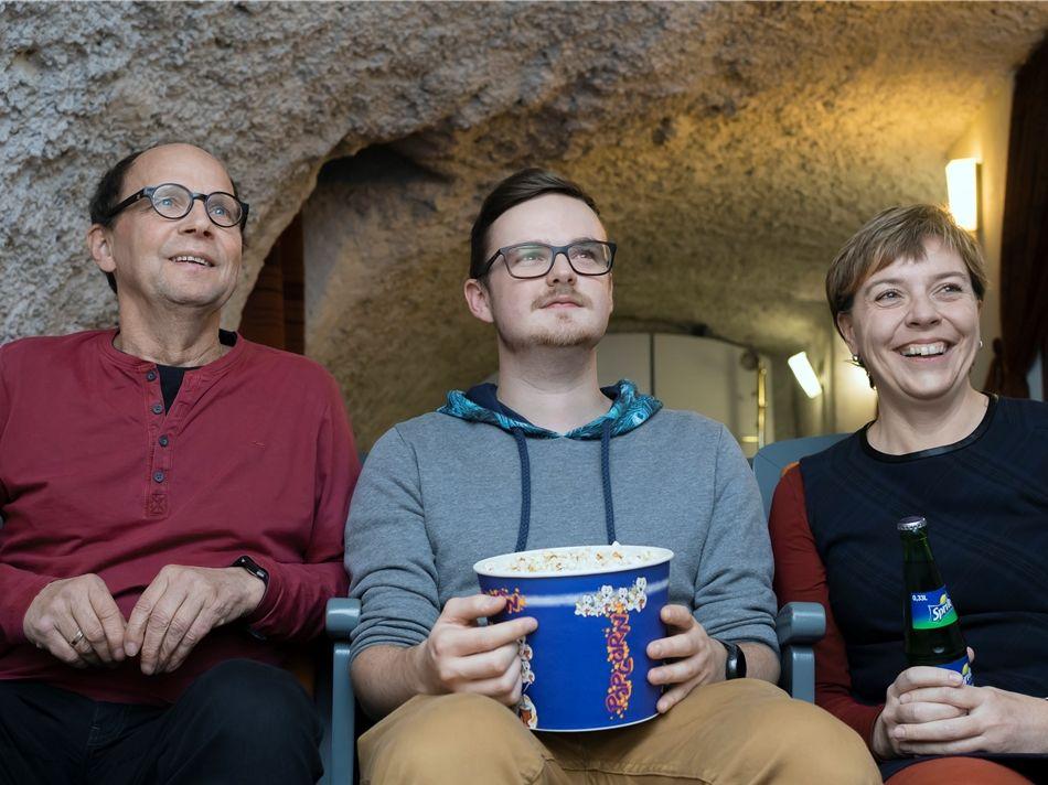 Armin, Florian und Marika