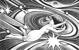 Visiting Home Planet Dream - Illustration for A Stranger From Afar