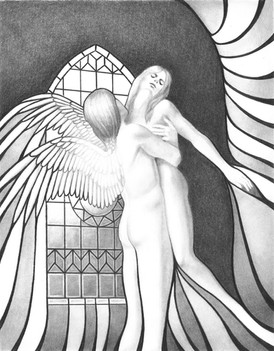 Angel Dream - Illustration for A Stranger From Afar